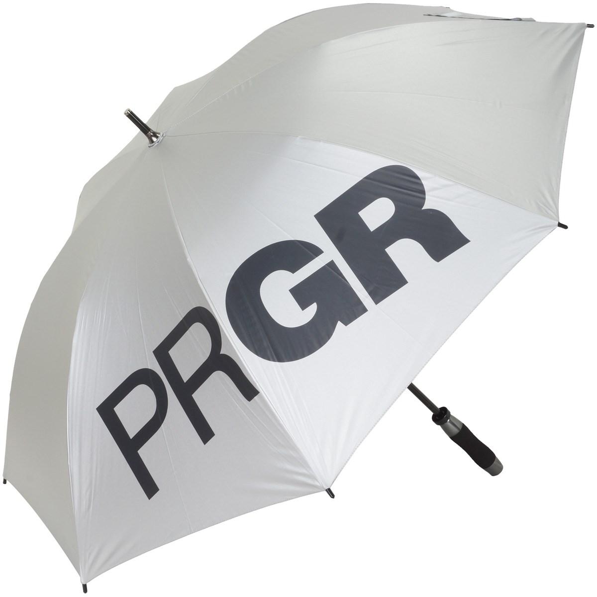 プロギア PRGR 傘 表:シルバー/裏:ブラック