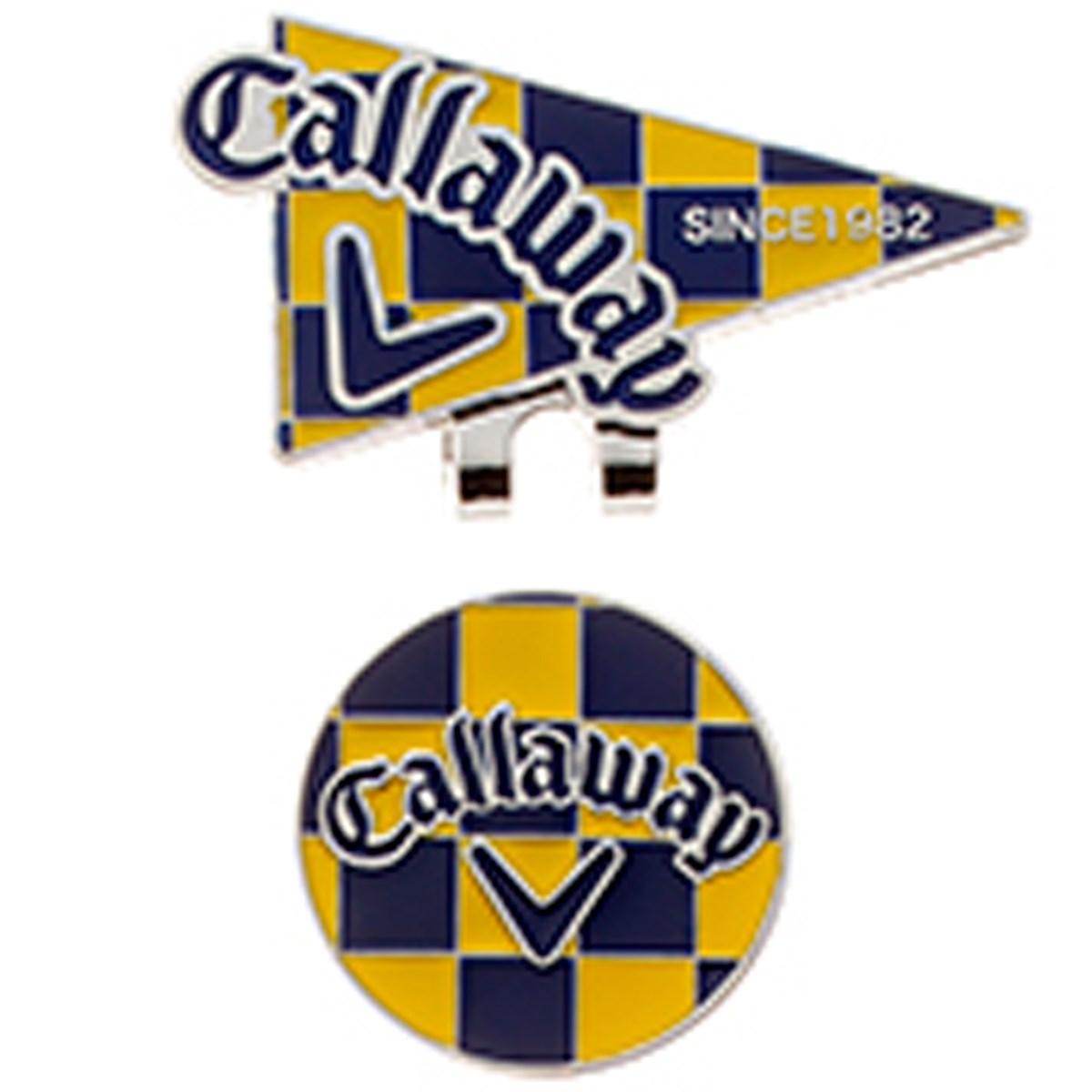 キャロウェイゴルフ Callaway Golf フラッグマーカー 16JM ネイビー/イエロー