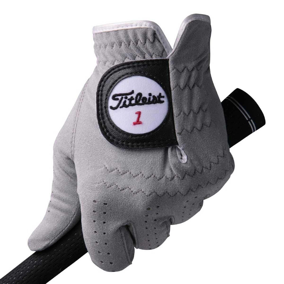 タイトリスト TITLEIST 16 プロフェッショナルテックグローブ 22cm 左手着用(右利き用) グレー