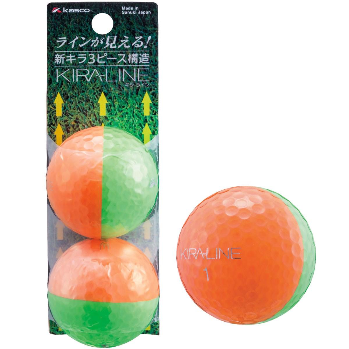 キャスコ(KASCO) KIRA LINE ボール 2球パック