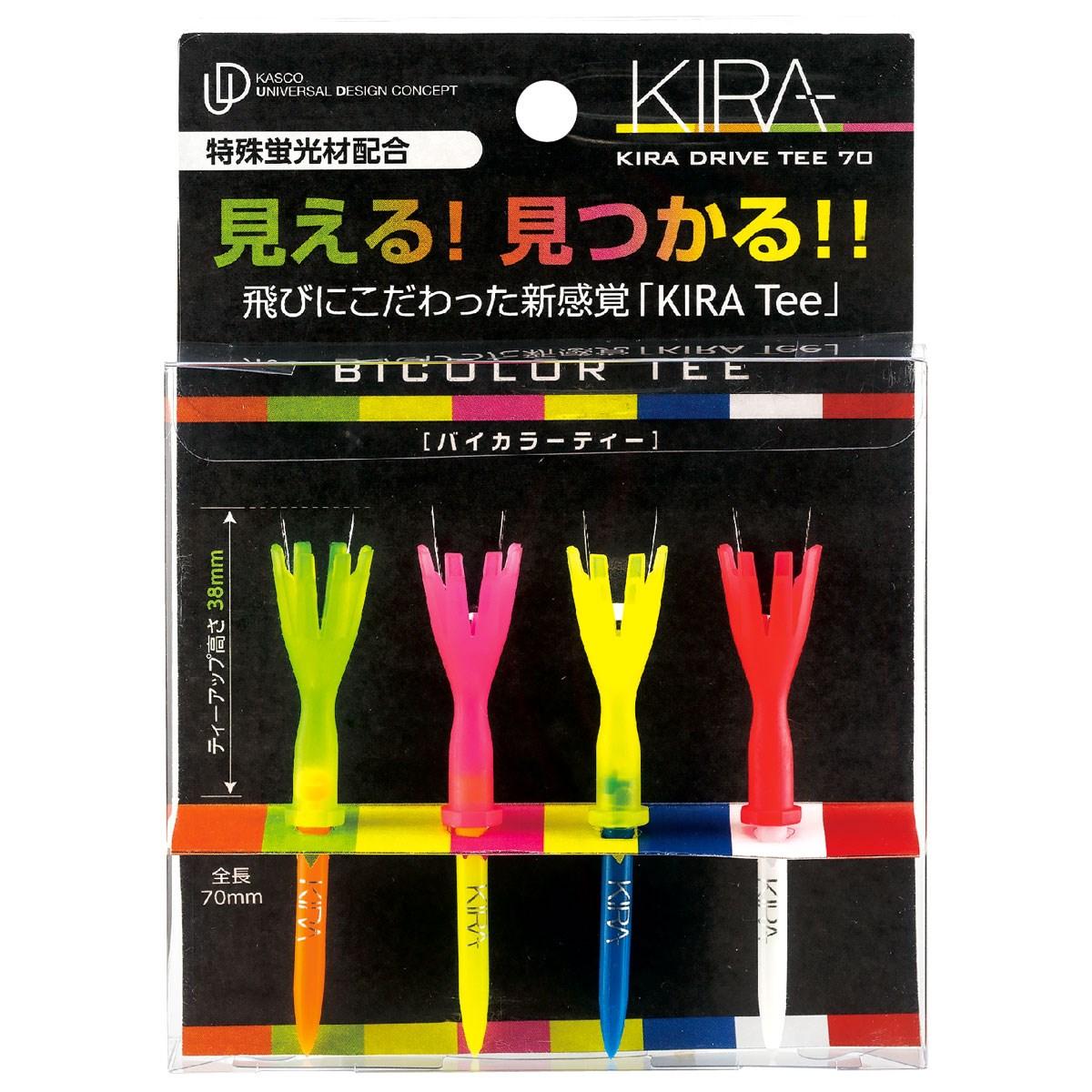 キャスコ KIRA ドライブティー70 Bicolor アソート