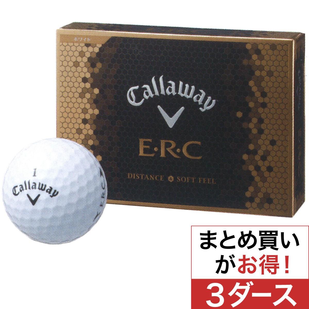 キャロウェイゴルフ(Callaway Golf) NEW ERC ボール 2016年モデル 3ダースセット