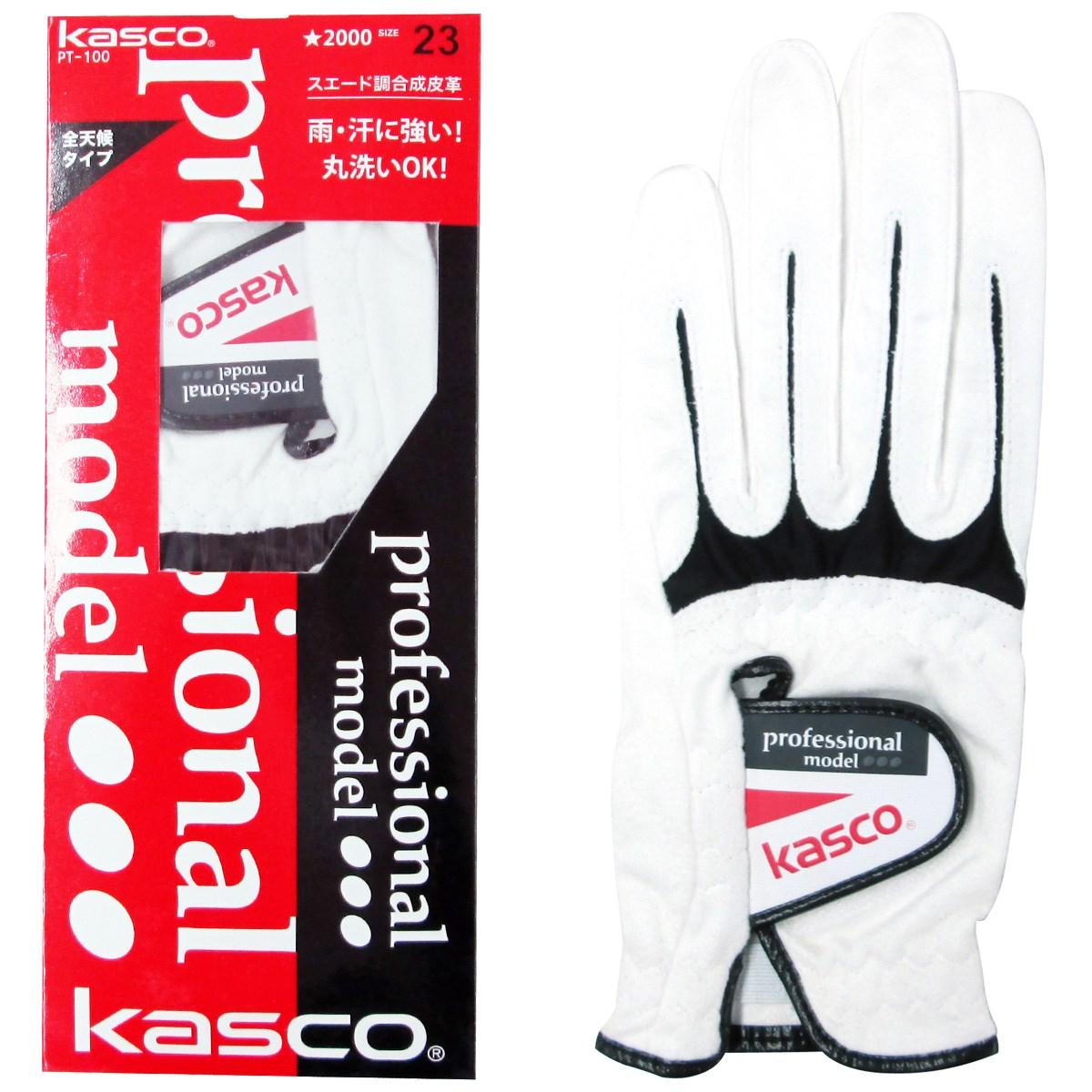 キャスコ KASCO GDO限定 PT100グローブ 21cm 左手着用(右利き用) ホワイト