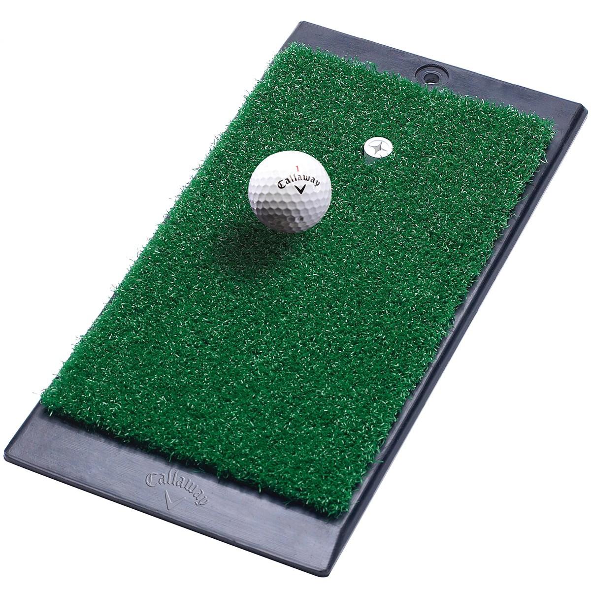 キャロウェイゴルフ Callaway Golf エフティー ラウンチゾーン ヒッティングマット グリーン