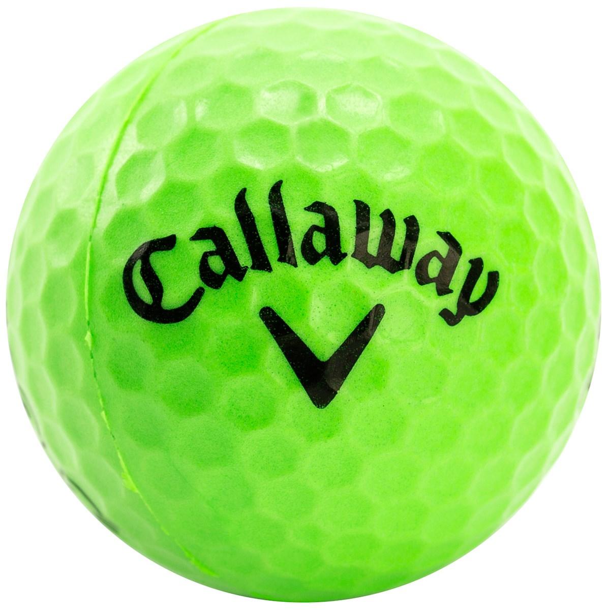 キャロウェイゴルフ Callaway Golf ヘックス プラクティスボール 9個入り ライム
