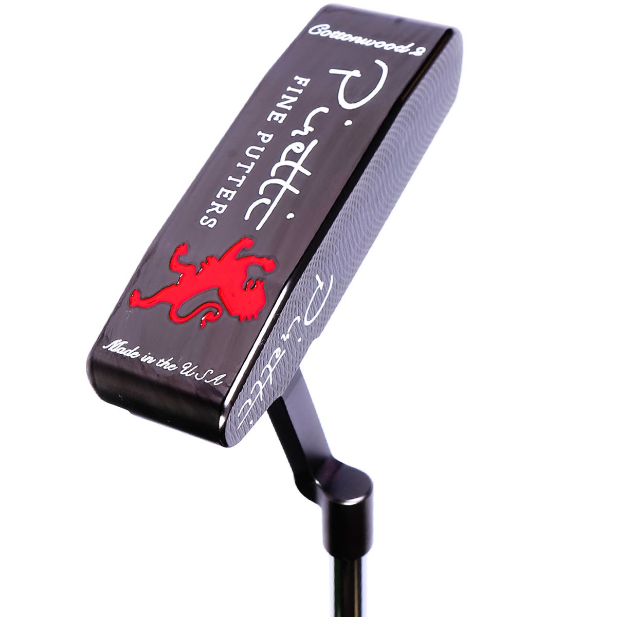 ピレッティ コットンウッドII Black Onyx 375 パター