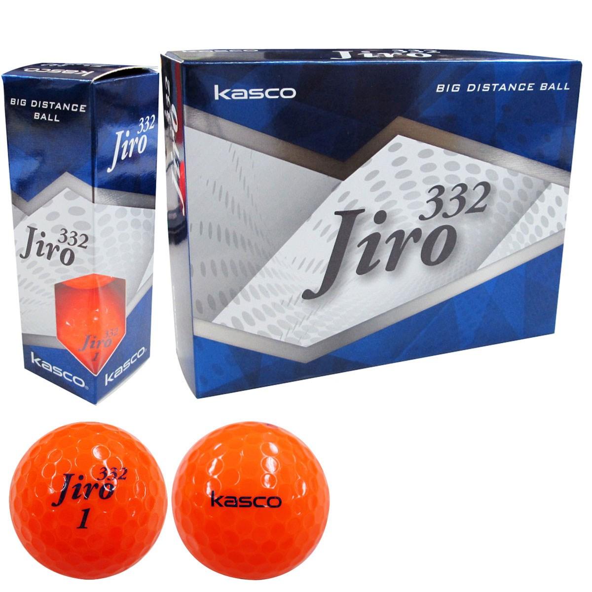 キャスコ KASCO jiro332ボール 1ダース(12個入り) オレンジ