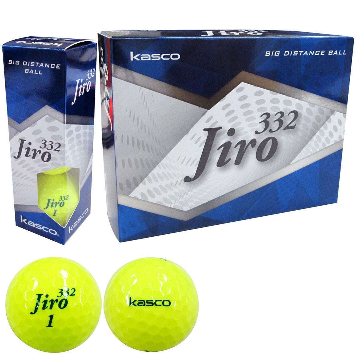 キャスコ KASCO jiro332ボール 5ダースセット 5ダース(60個入り) イエロー