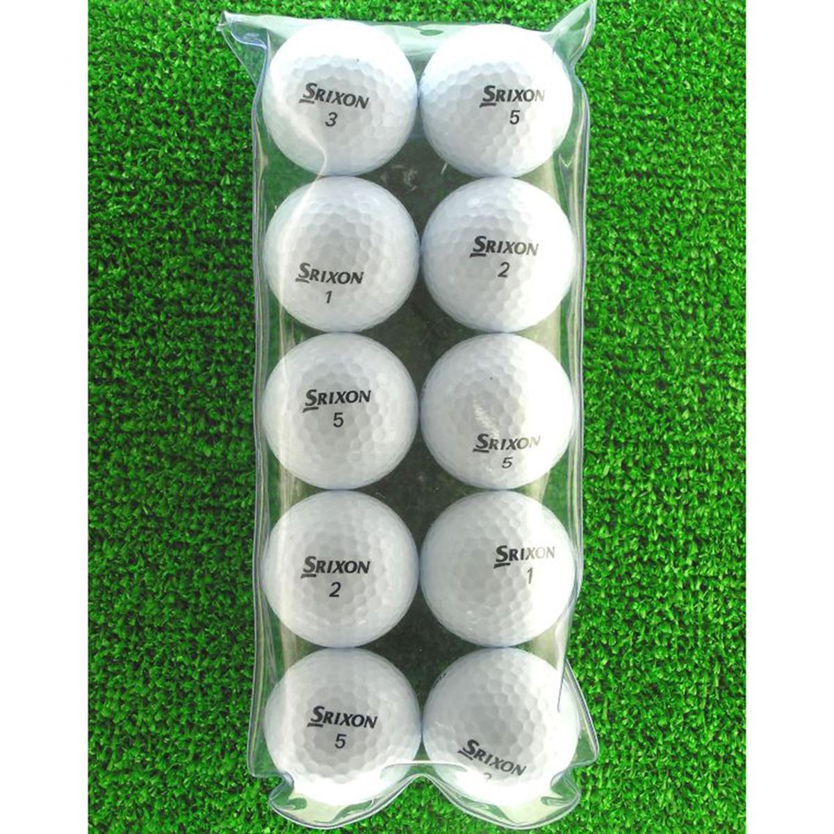 メイホウゴルフ ロストボール スリクソン DISTANCE ホワイト 10個入り5パック50個セット