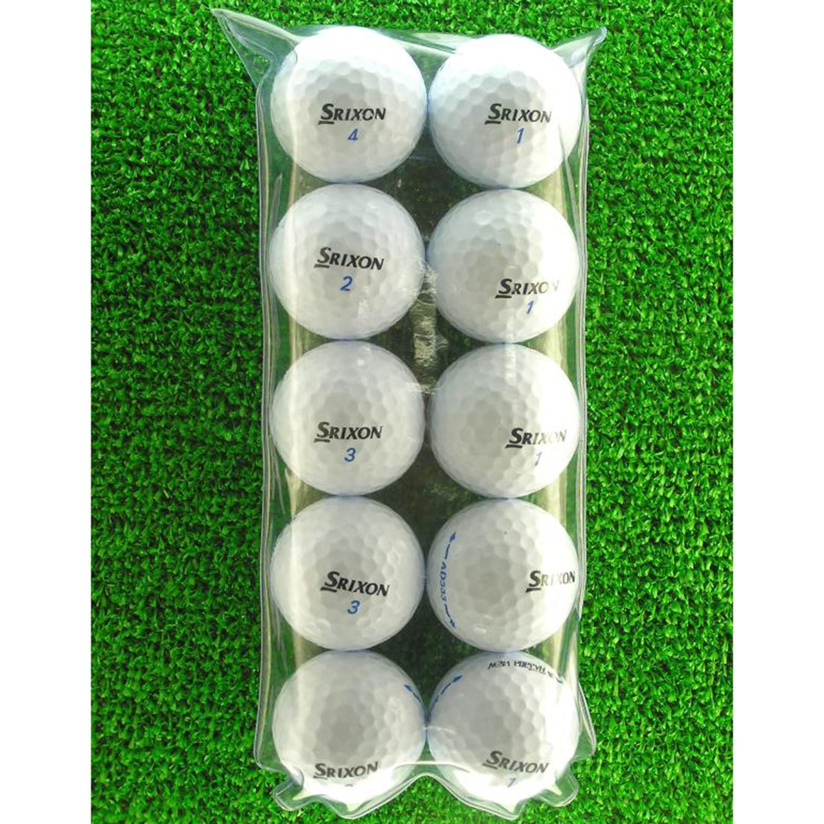 メイホウゴルフ ロストボール スリクソン AD333 ホワイト 10個入り5パック50個セット