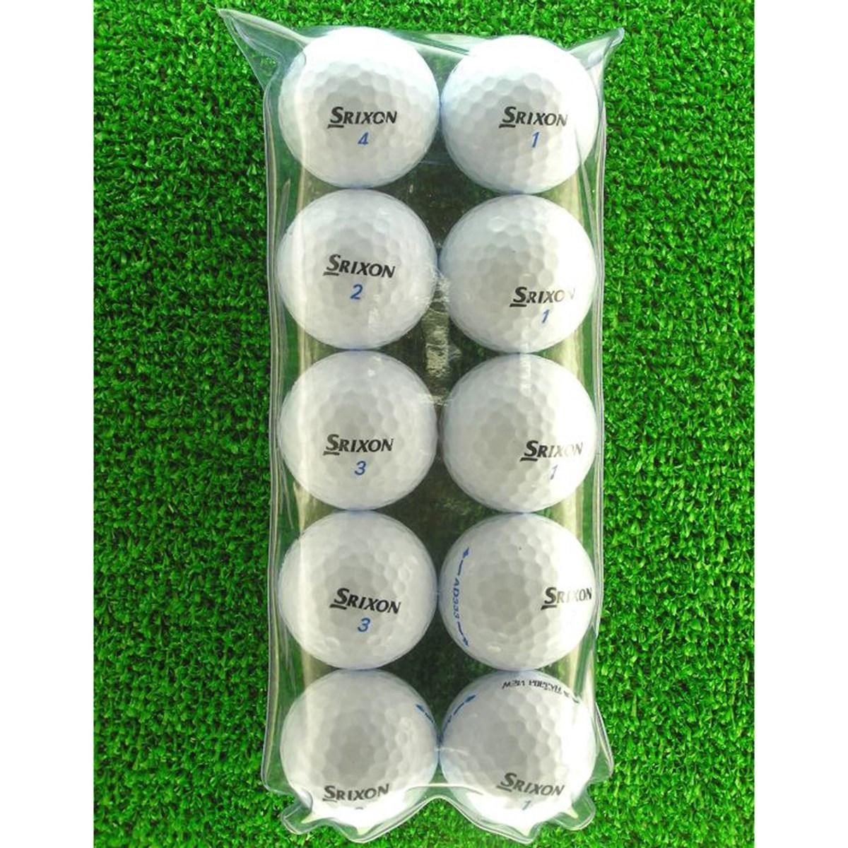 ロストボール メイホウゴルフ ロストボール スリクソン AD333 ホワイト 10個入り5パック50個セット