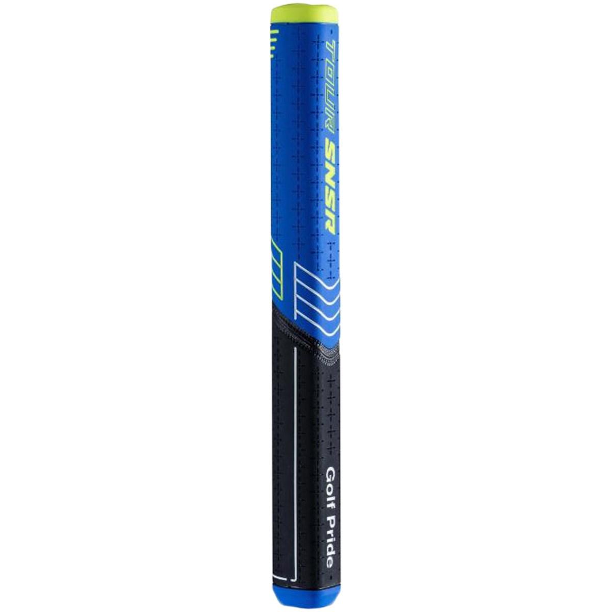 ゴルフプライド Golf Pride ツアーセンサーストレート グリップ パター用 ブラック/ブルー(90g、104cc)