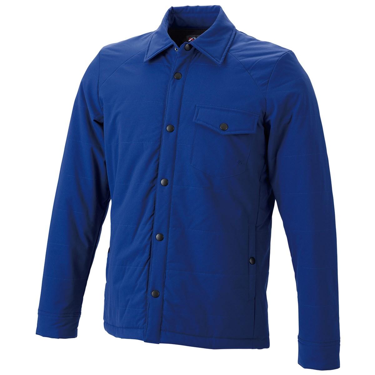 キャスコ KASCO ストレッチ中綿長袖ブルゾン M ブルー