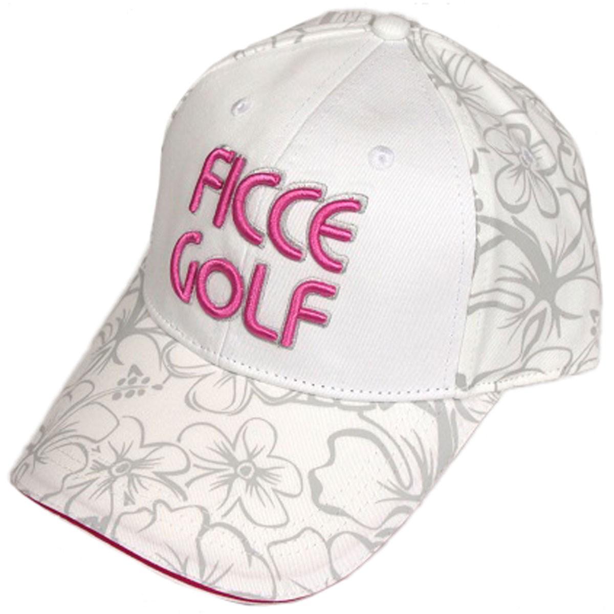 フィッチェゴルフ FICCE GOLF キャップ フリー オフホワイト レディス