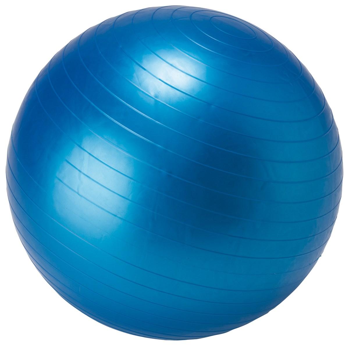 IDEAL BODY フィットネスボール 65cm ブルー