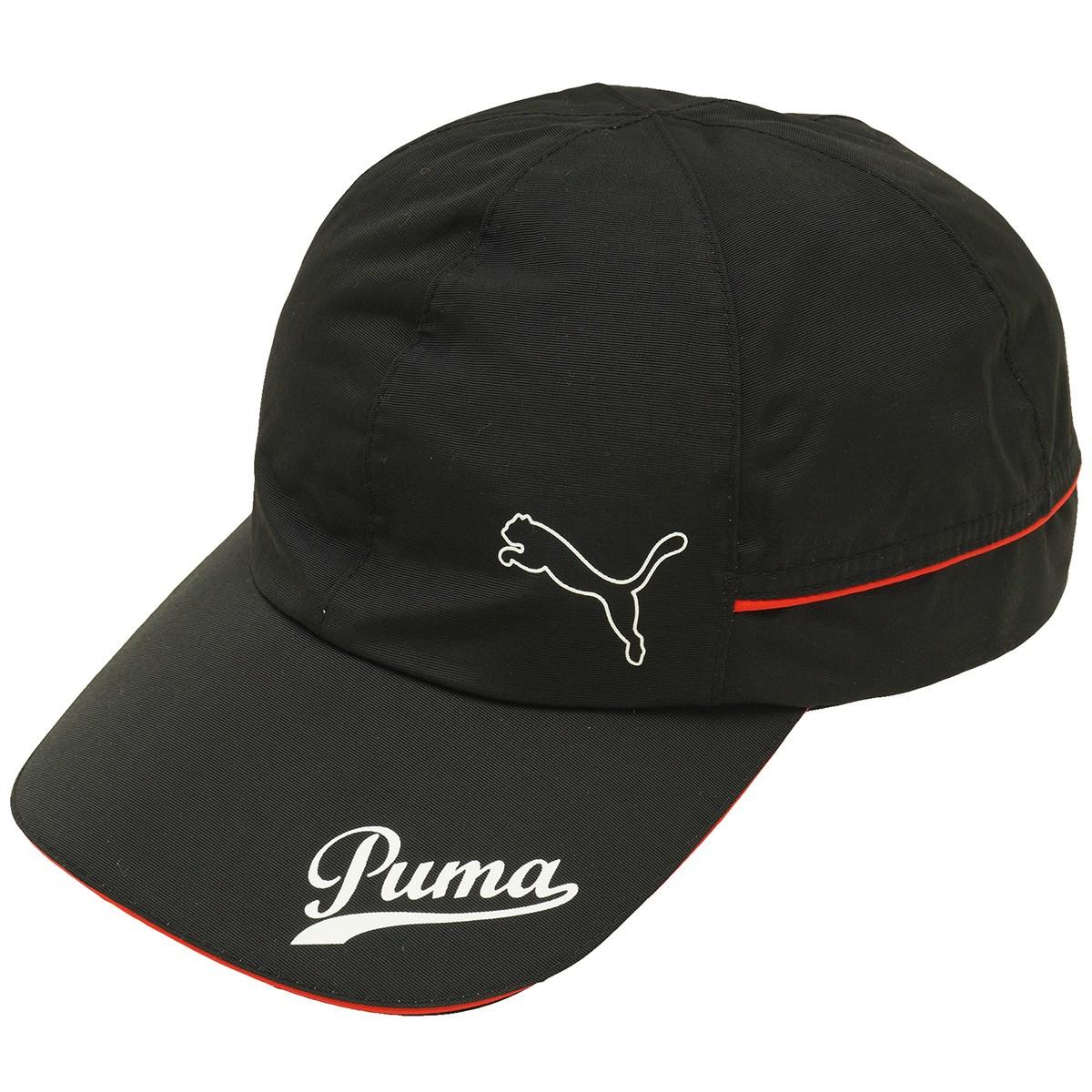 プーマ PUMA ゴルフ レインキャップ フリー ブラック/ハイリスクレッド 01