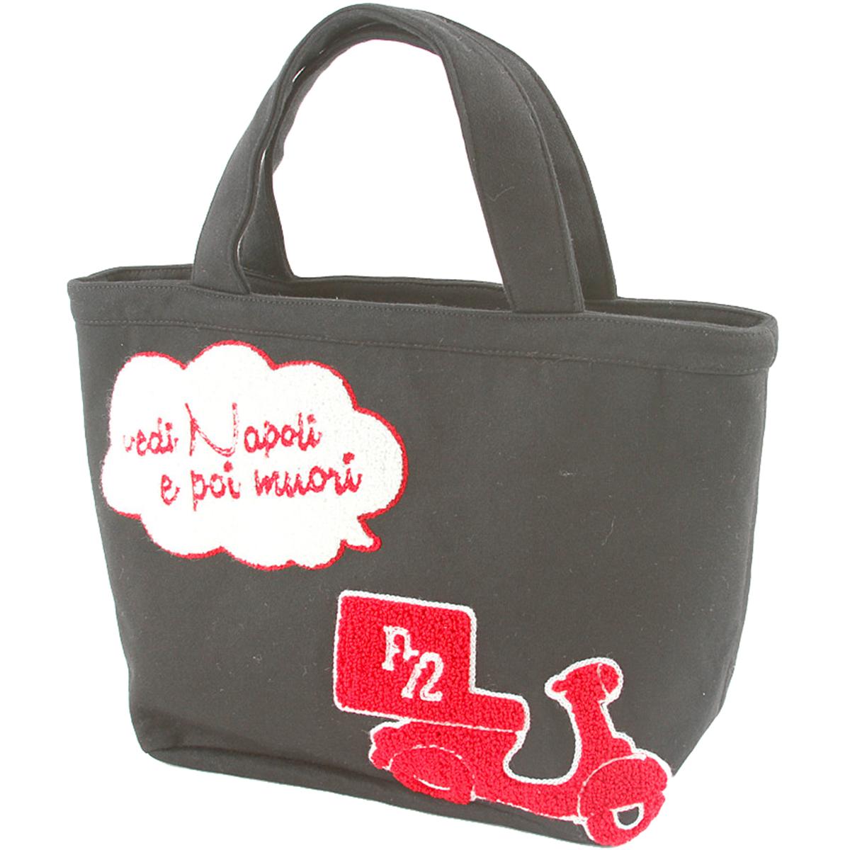 L刺繍入りカートバッグ