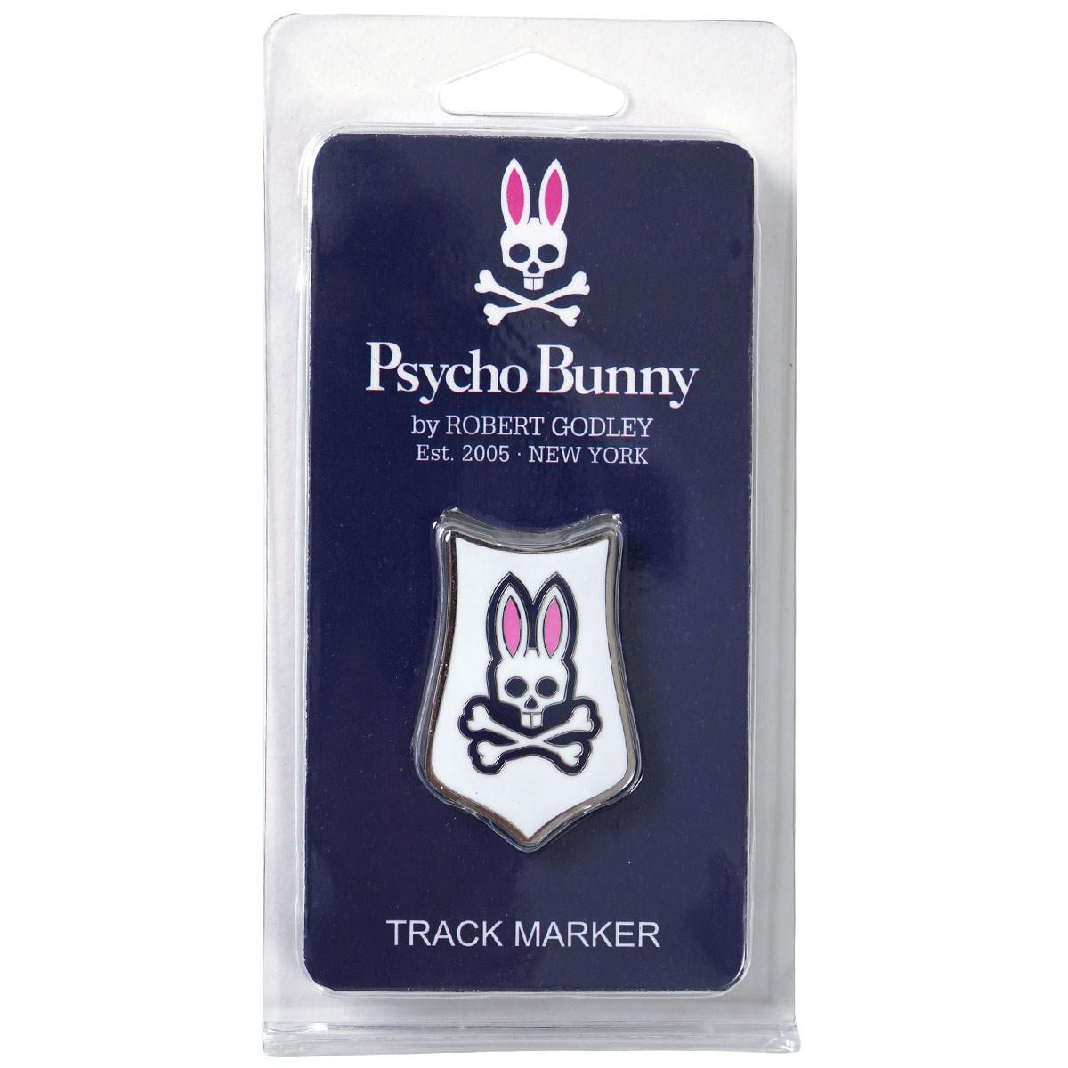 サイコバニー PSYCHO BUNNY TRACK マーカー ホワイト
