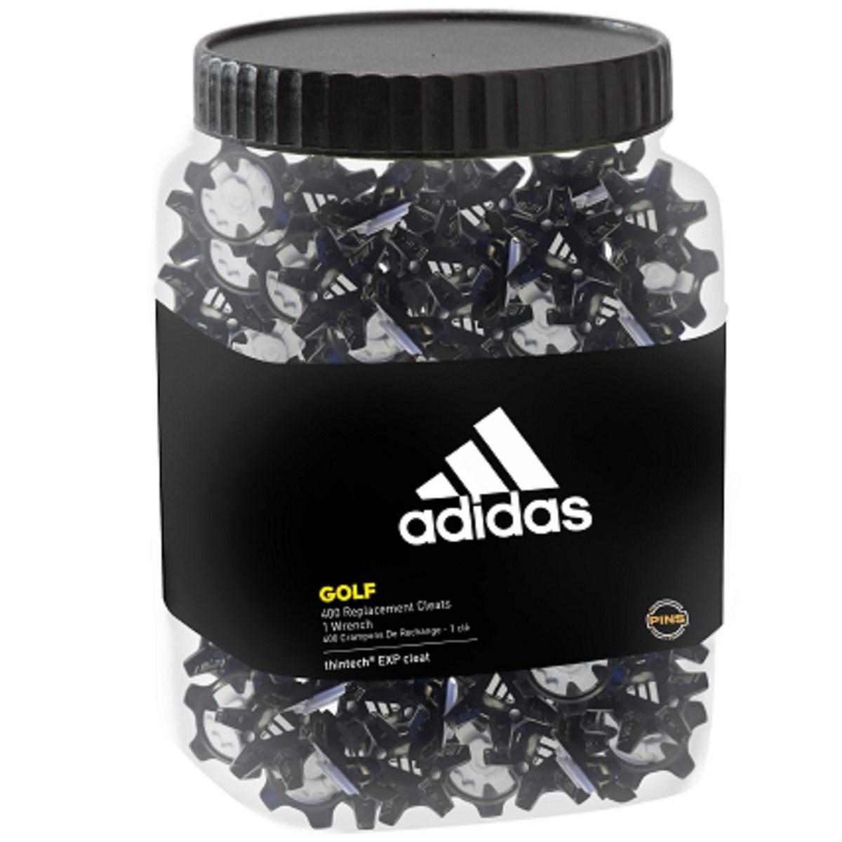 アディダス Adidas THINTECH EXP クリーツ 400個入り 【ピンズ】 ブラック BC5622