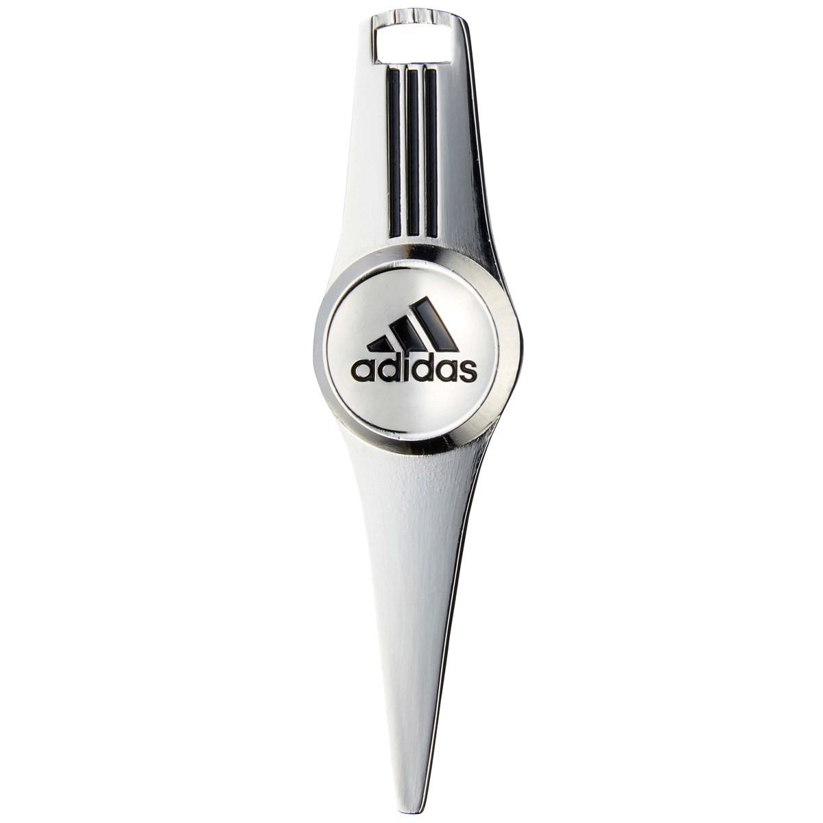 アディダス Adidas シングルグリーンフォーク シルバー/ブラック A42038