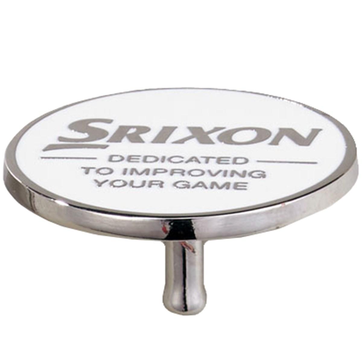 ダンロップ SRIXON Tマーカー 2個セット ホワイト/レッド