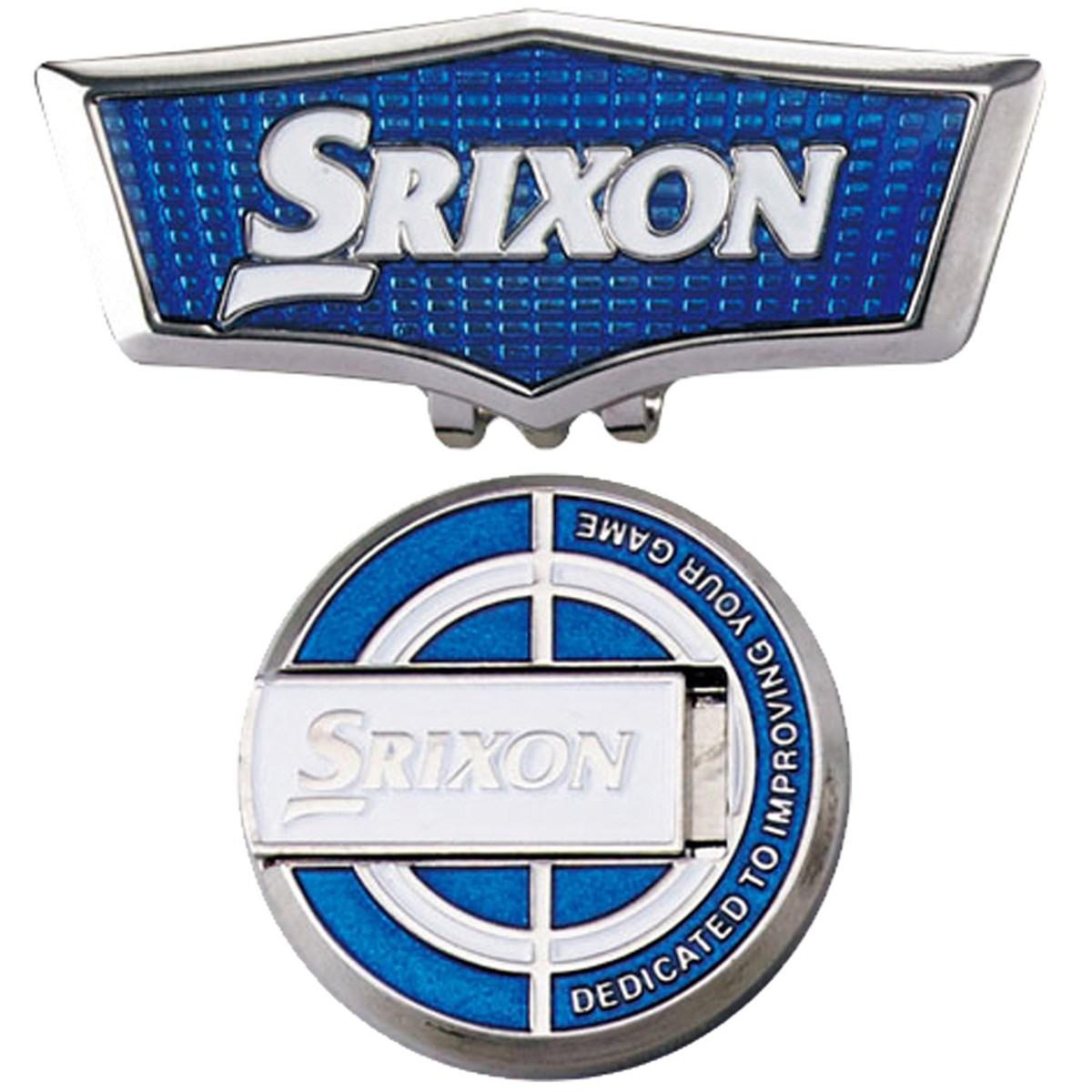 ダンロップ SRIXON クリップ&スタンドアップマーカー ブルー