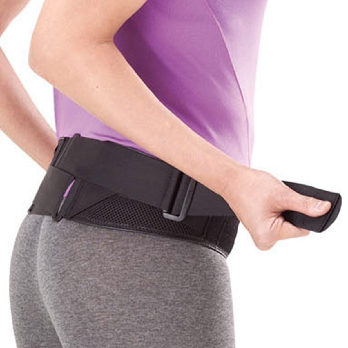 ミズノ MIZUNO 補助ベルト付き腰部骨盤ベルト ノーマルタイプ M-L ブラック