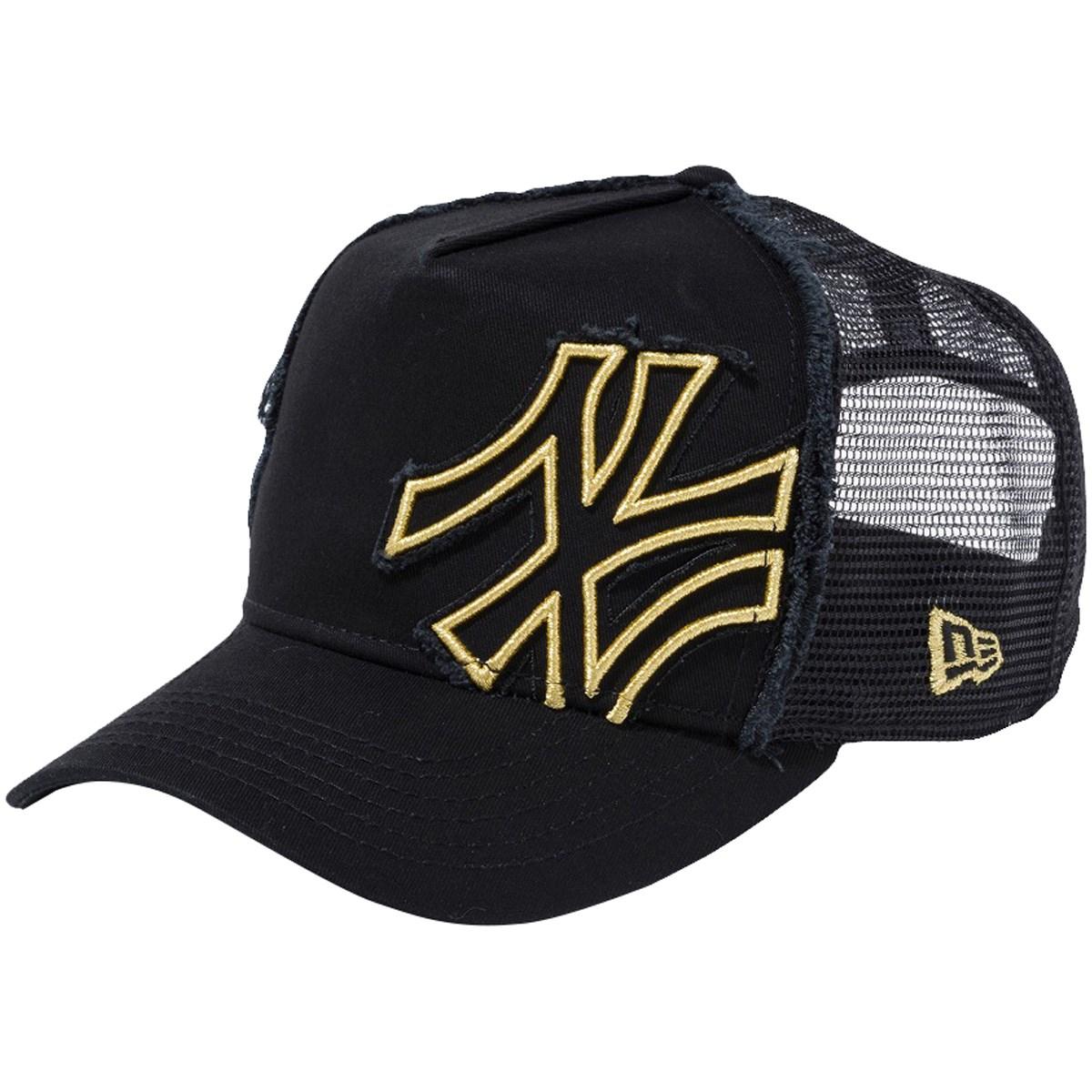 ニューエラ NEW ERA D-FRAME BATTALION NEYYAN キャップ フリー ブラック/ゴールド