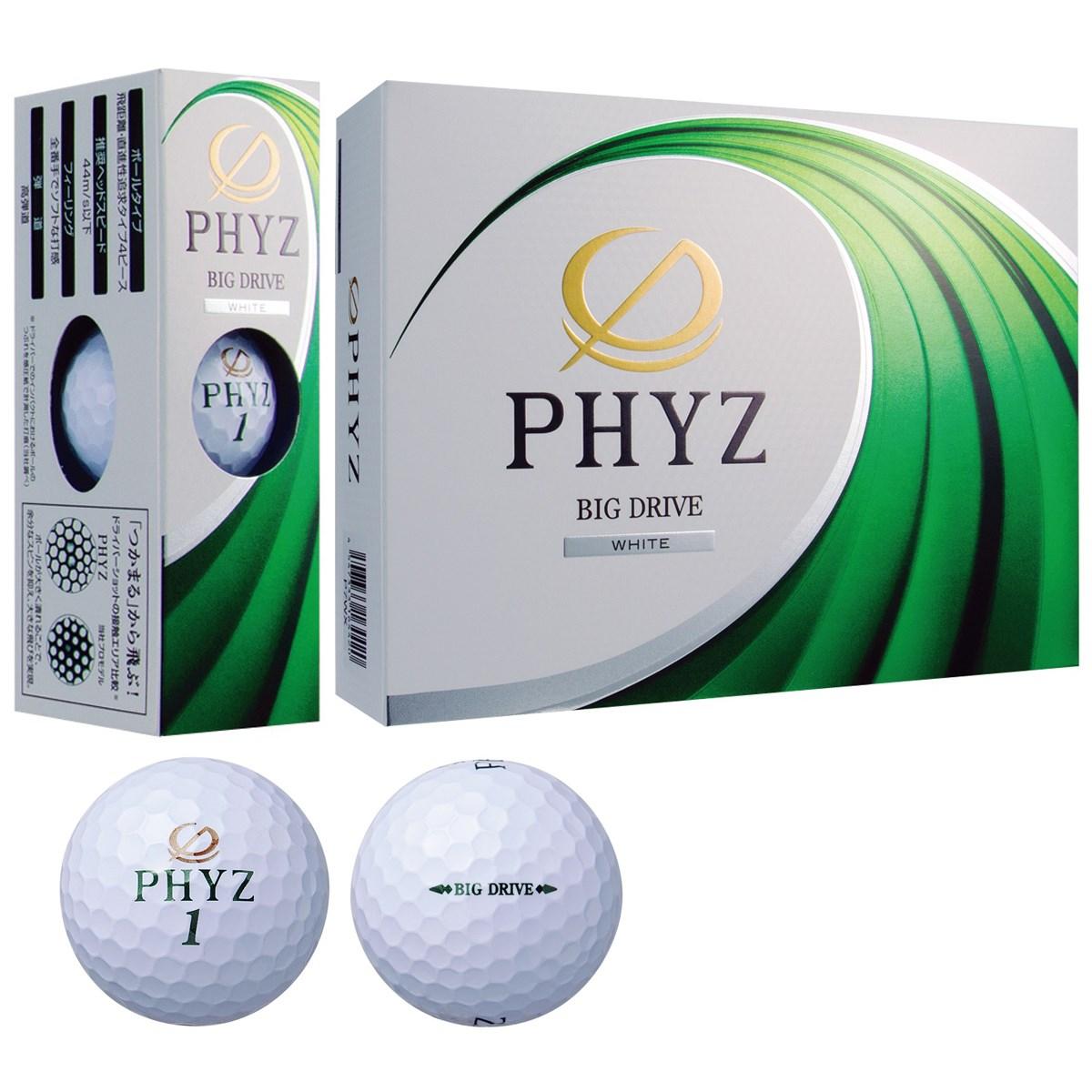 ブリヂストン PHYZ PHYZ ボール 2017年モデル 1ダース(12個入り) ホワイト