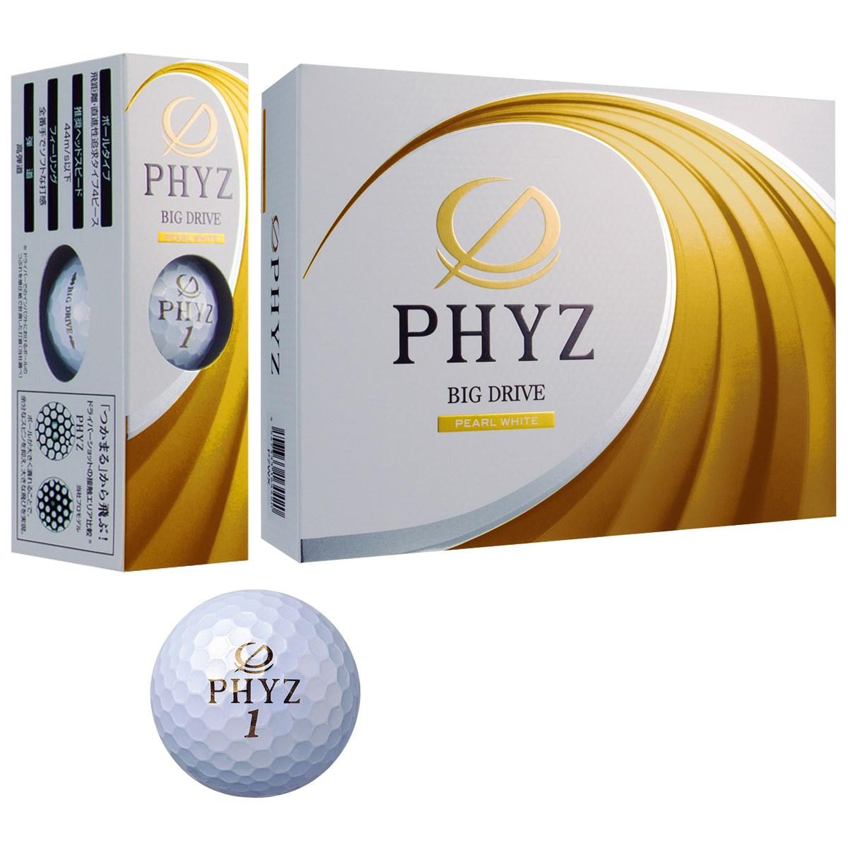 ブリヂストン PHYZ PHYZ ボール 2017年モデル 1ダース(12個入り) パールホワイト