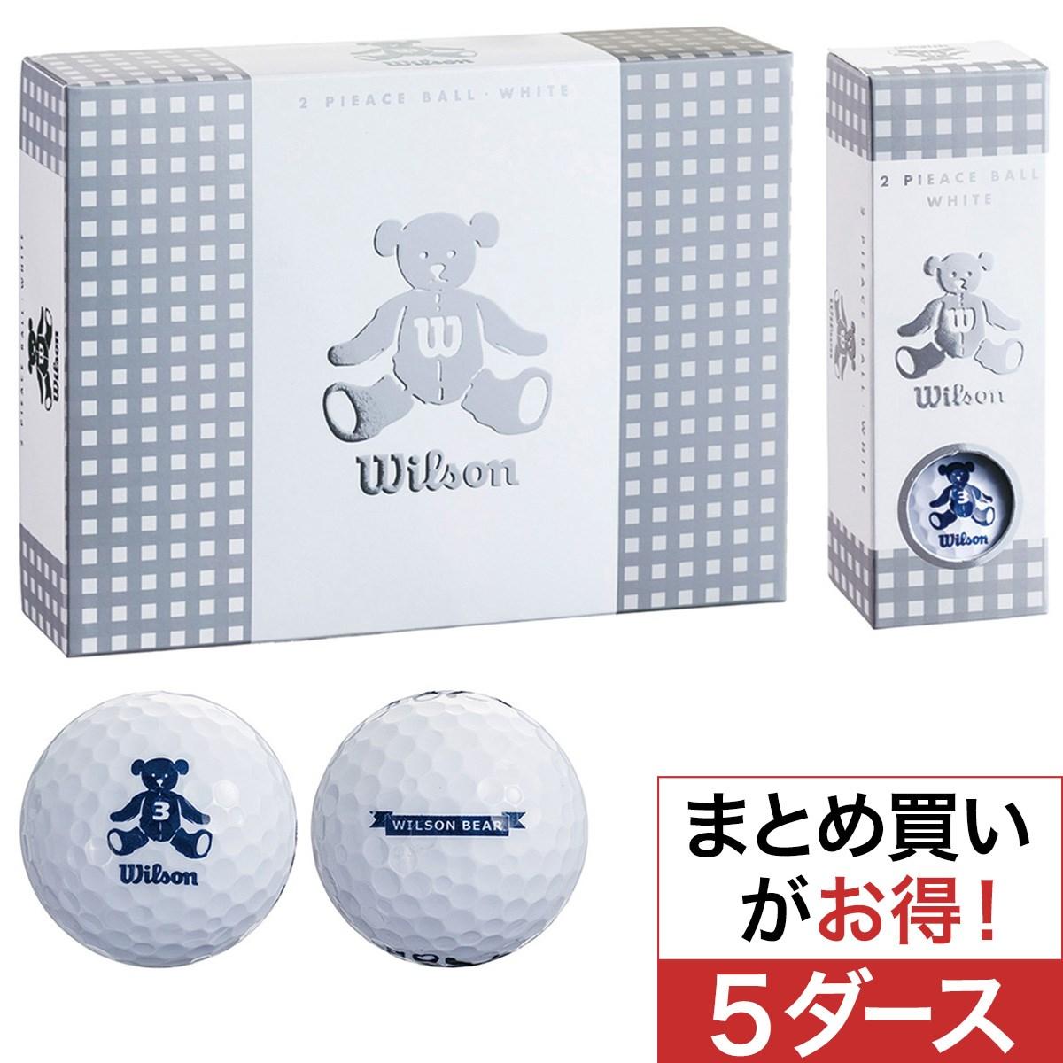 ウイルソン(wilson) BEAR3 ボール 5ダースセットレディス
