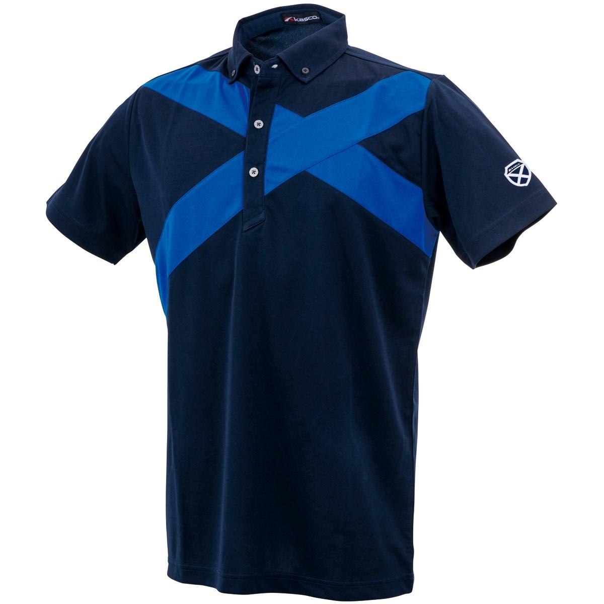 キャスコ(KASCO) スムースボタンダウン半袖ポロシャツ