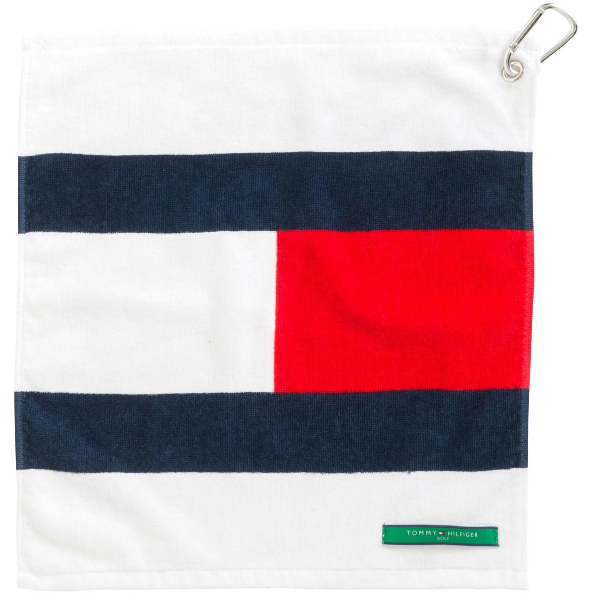 トミー ヒルフィガー ゴルフ TOMMY HILFIGER GOLF FLAG タオル小 トリコロール 90