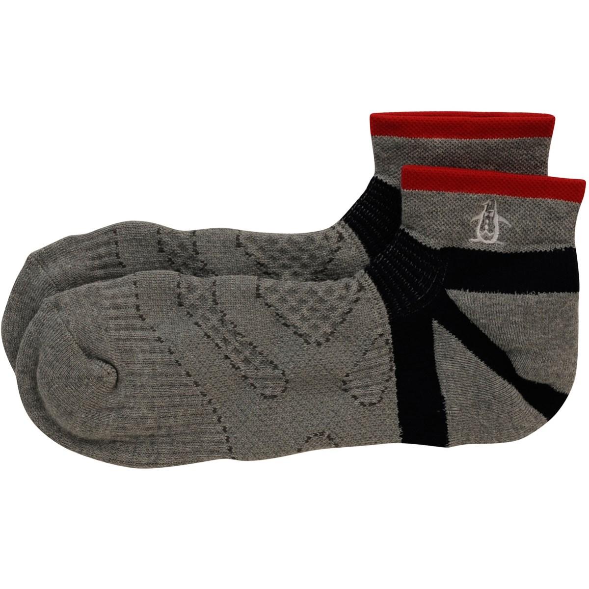 マンシングウェア Munsingwear ショートソックス フリー グレー N600