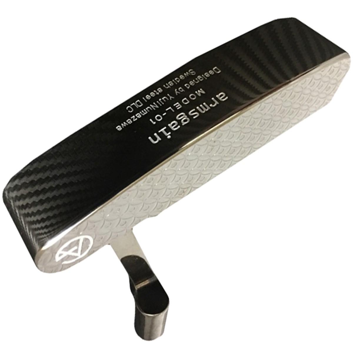 アームスゲイン Model-01 パター 響スティール ブラックダイヤモンドライクカーボンコーティングモデル