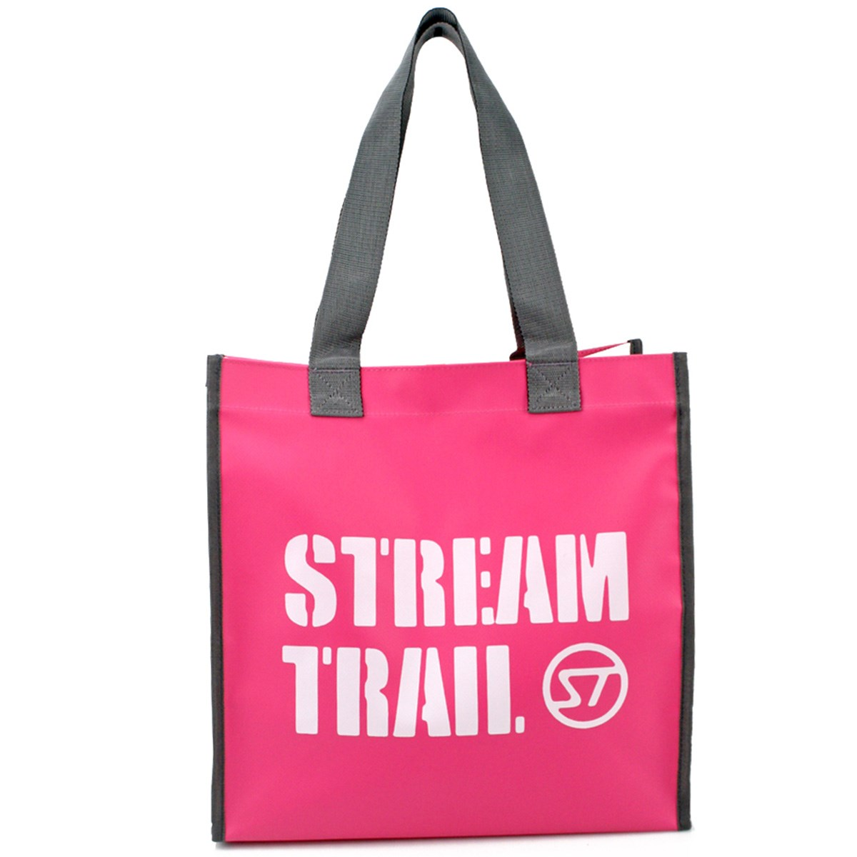 ストリームトレイル Stream Trail DORY トートバッグ ピンク/ホワイト