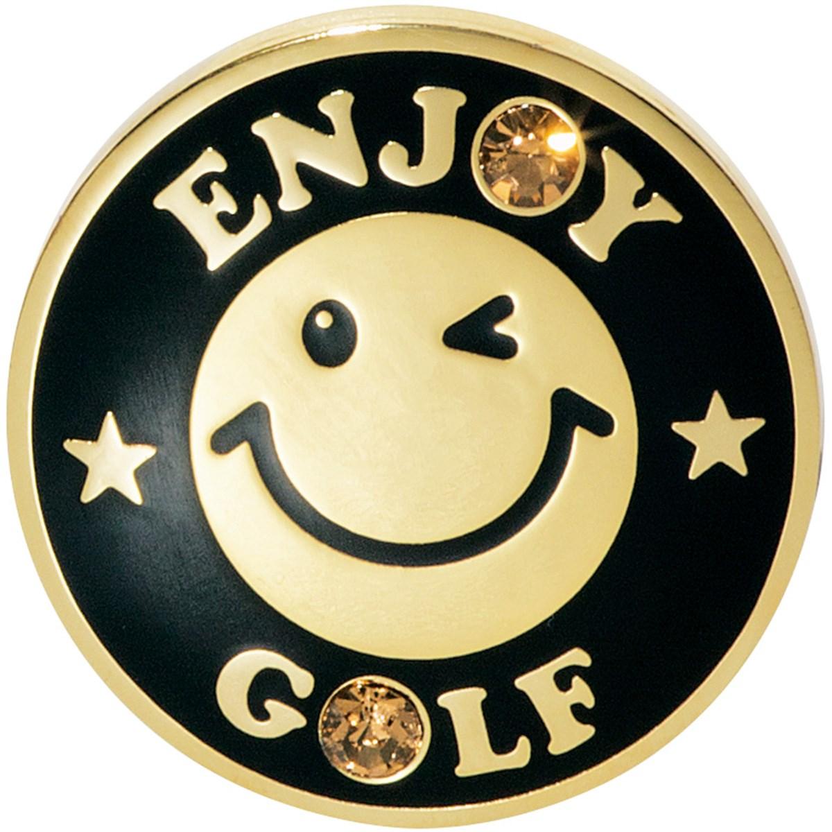 WINWIN STYLE ウィンウィンスタイル ENJOY GOLF Gold Ver. マーカー ブラック
