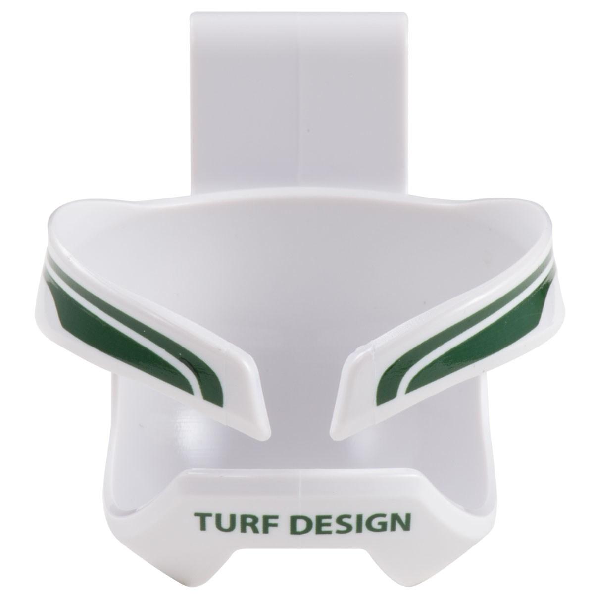 ターフデザイン TURF DESIGN ボールクロー ホワイト/グリーン