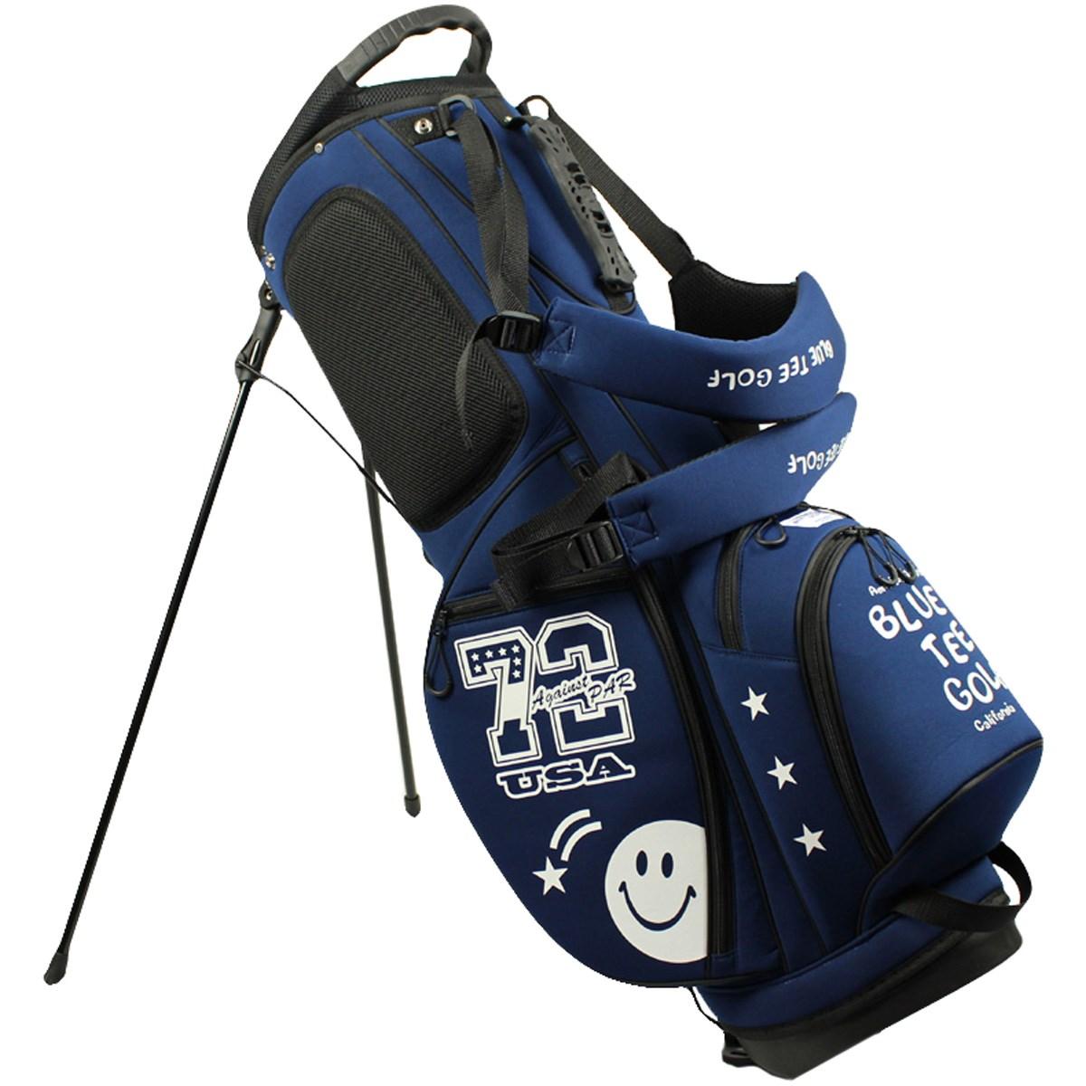 ブルーティーゴルフ BLUE TEE GOLF ストレッチスタンドキャディバッグ ネイビー