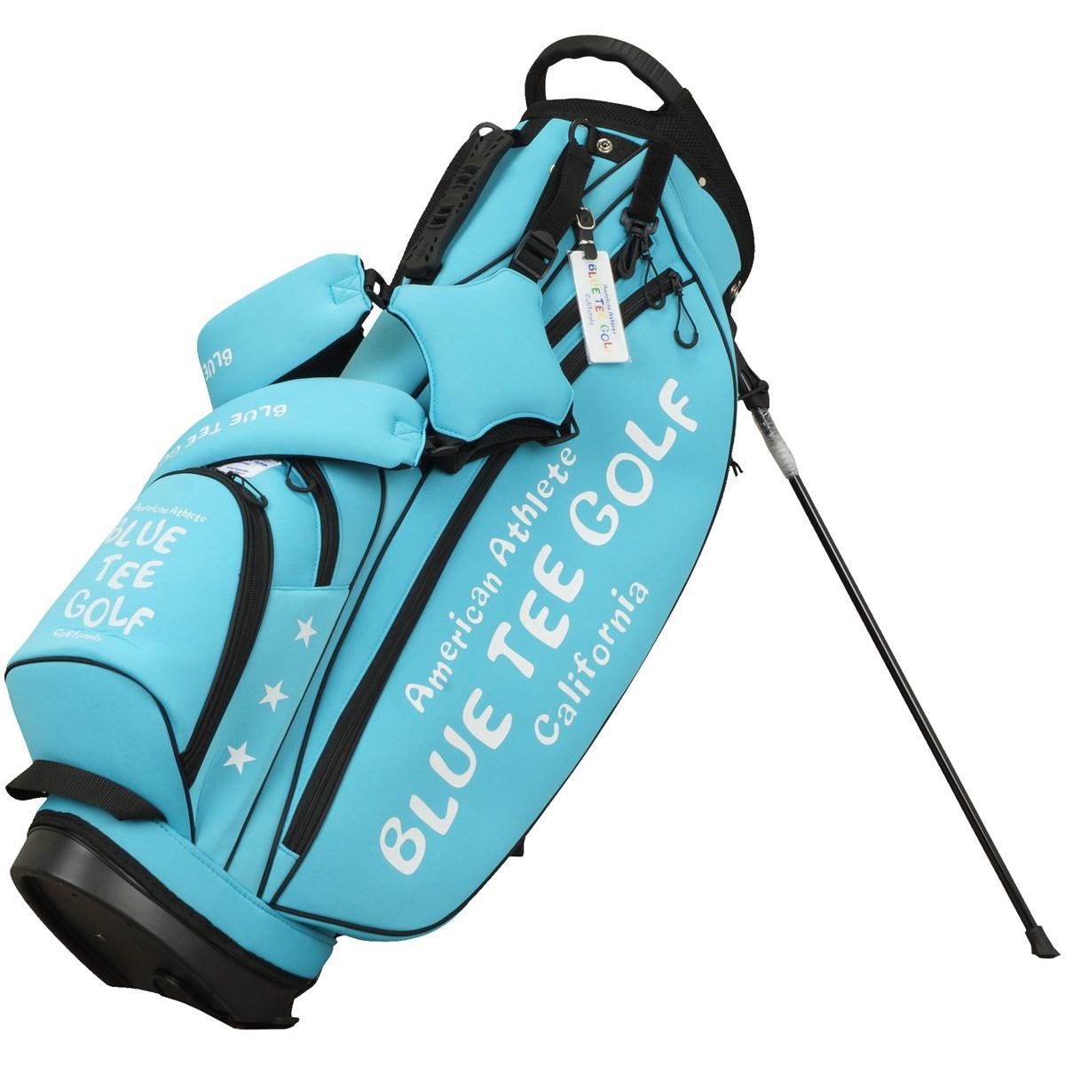 ブルーティーゴルフ BLUE TEE GOLF ストレッチスタンドキャディバッグ サックス