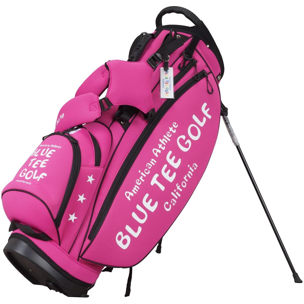 ブルーティーゴルフ BLUE TEE GOLF ストレッチスタンドキャディバッグ ピンク