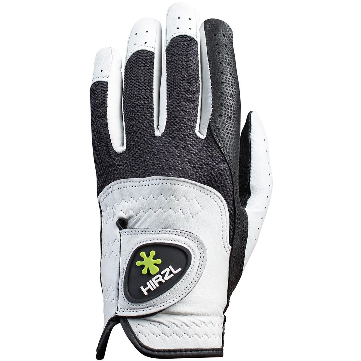 ハーツェル HIRZL 天然皮革グローブ 25cm 左手着用(右利き用) ホワイト/ブラック