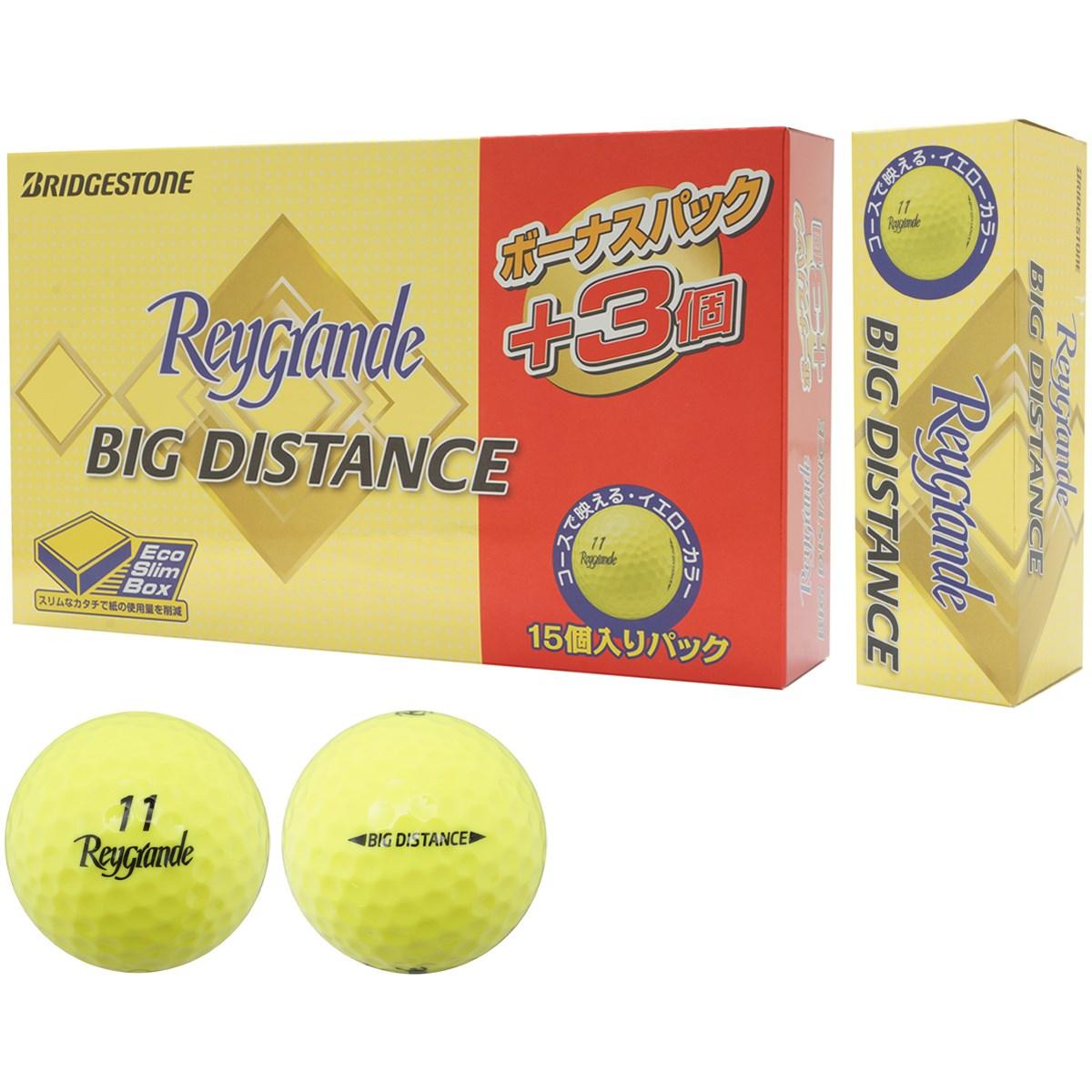 ブリヂストン(BRIDGESTONE GOLF) レイグランデ ビッグディスタンス ボール ボーナスパック 15個入り