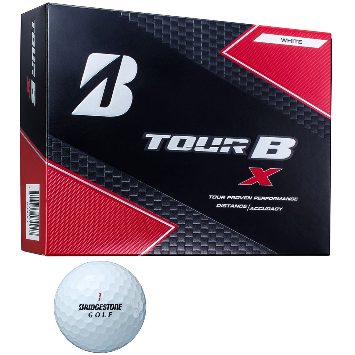 ブリヂストン(BRIDGESTONE GOLF) TOUR B X BS GOLFロゴ ボール