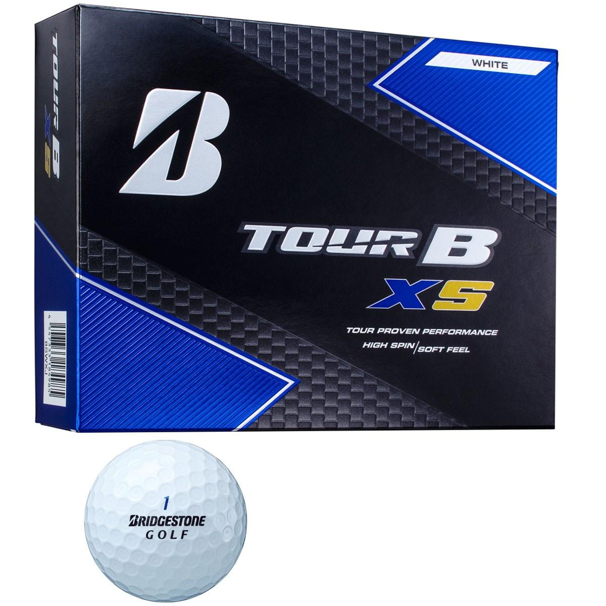 ブリヂストン(BRIDGESTONE GOLF) TOUR B XS BS GOLFロゴ ボール【オンネームサービス有り】