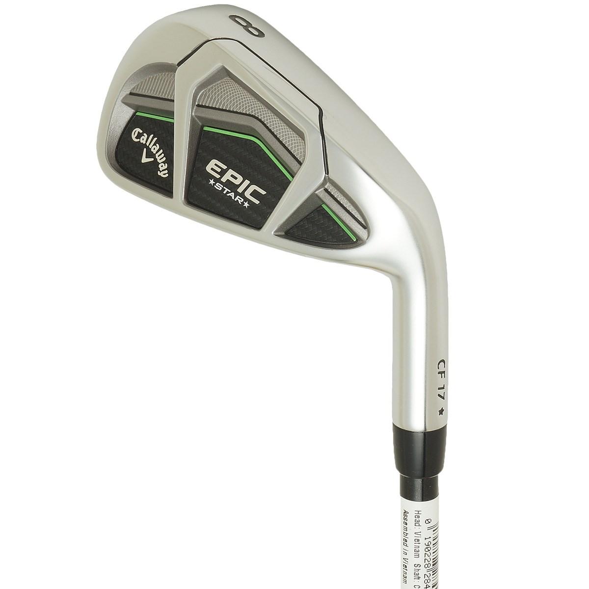 キャロウェイゴルフ(Callaway Golf) GBB EPIC STAR アイアン(5本セット) N.S.PRO ZELOS 7