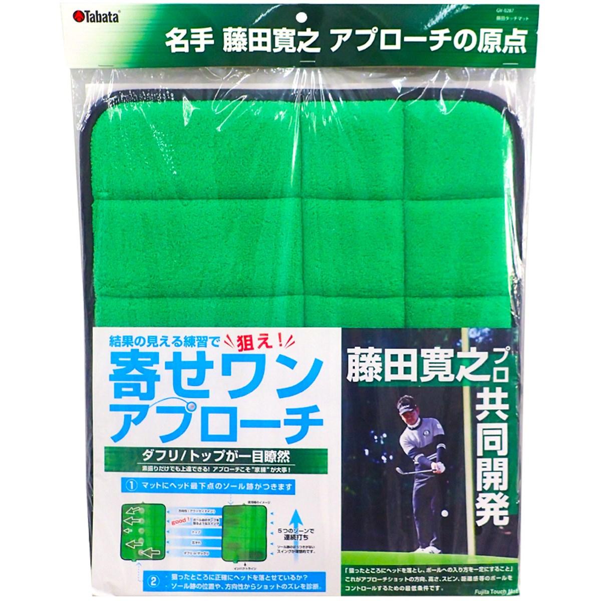 タバタ Tabata 藤田タッチマット グリーン