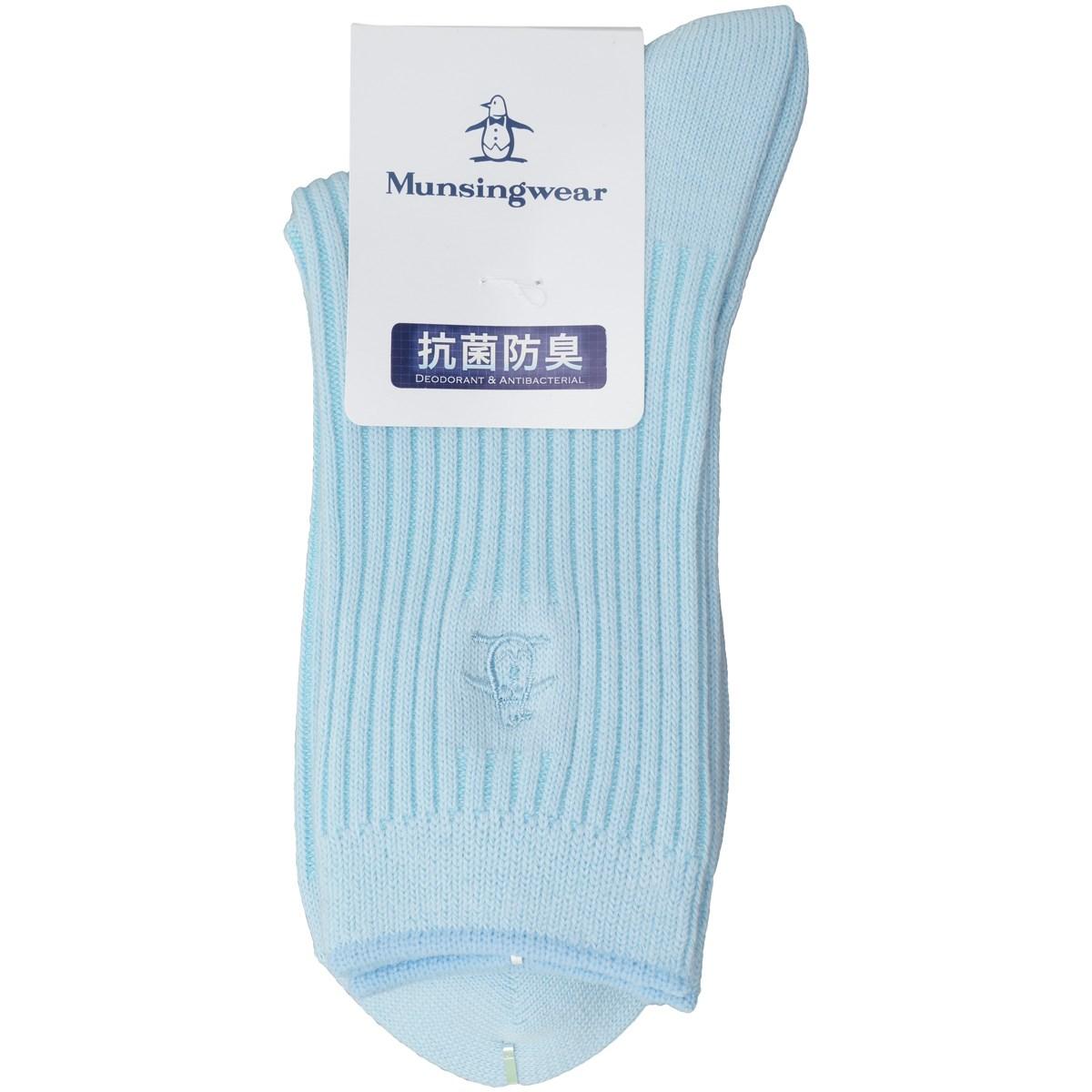 マンシングウェア Munsingwear レギュラーソックス フリー サックス B784 レディス