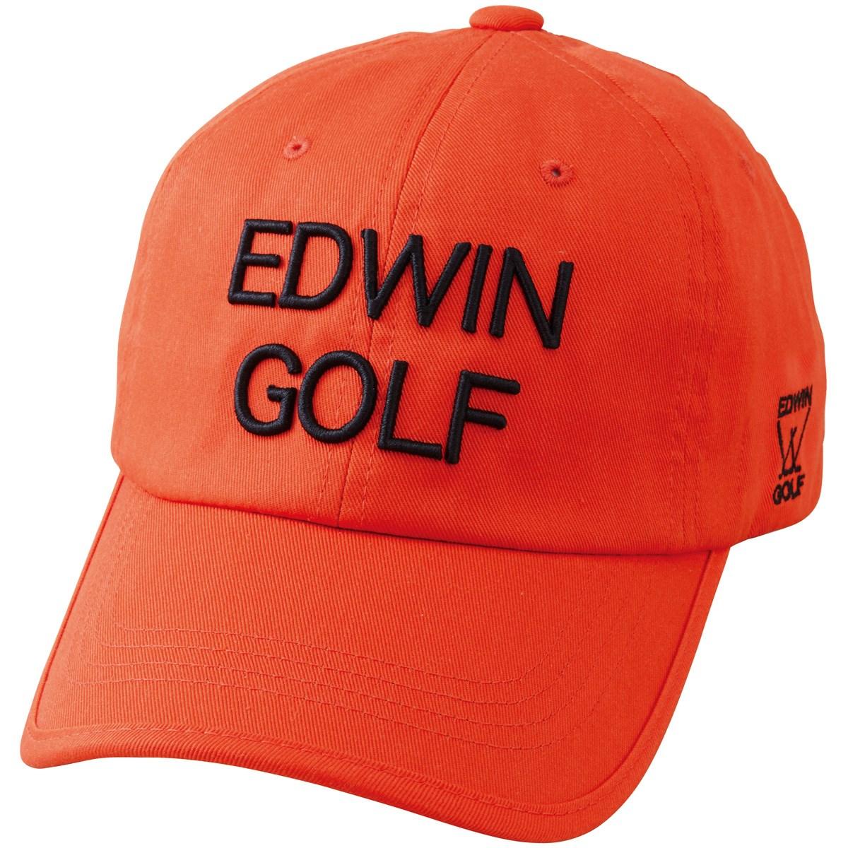 エドウイン EDWIN ツイルキャップ フリー オレンジ