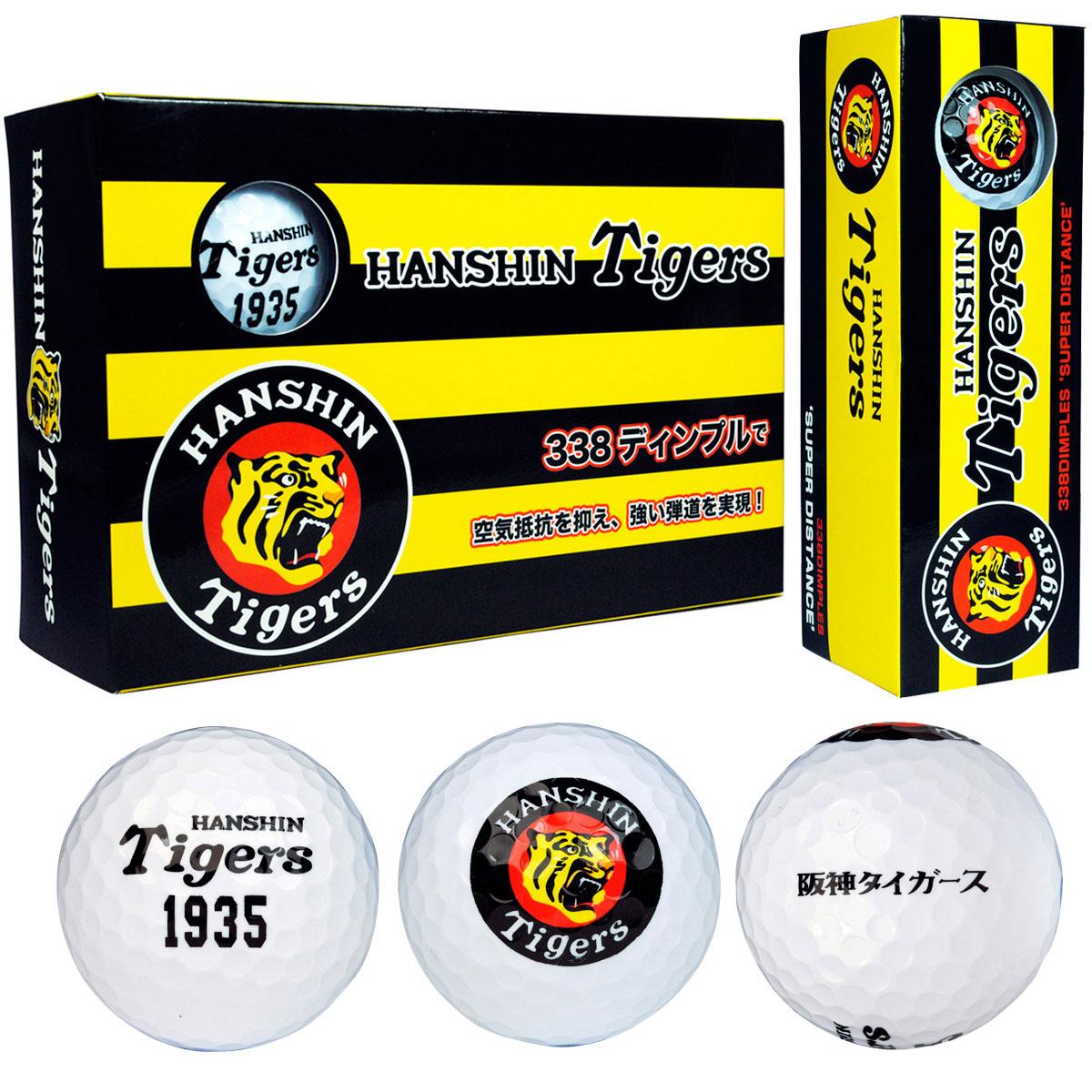 阪神タイガース ゴルフボール 半ダース【非公認球】